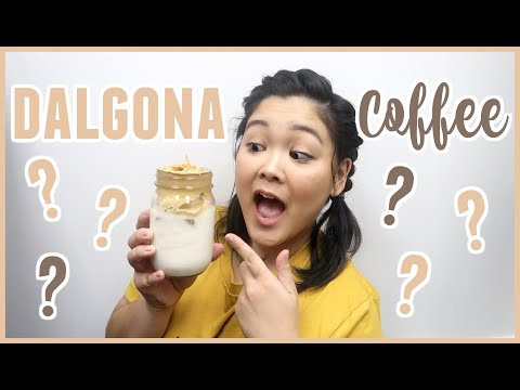 Trying The VIRAL Whipped Coffee Trend | Dalgona Coffee Recipe