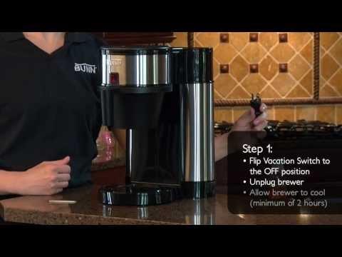 How to Clean the Sprayhead on BUNN® Velocity Brew®