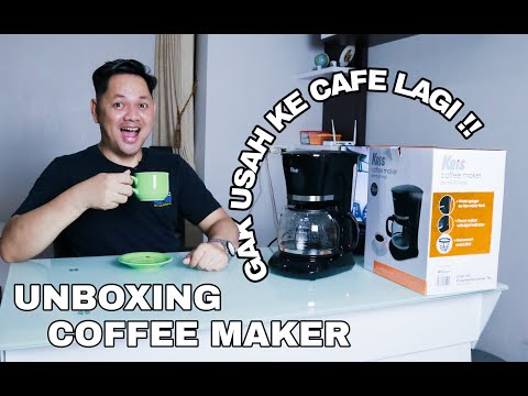 REVIEW….MESIN SEDUH KOPI PRAKTIS | coffee maker  2020