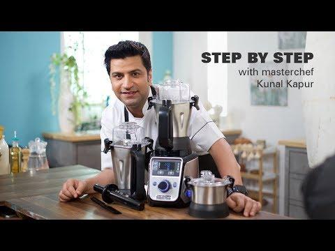 How to use Hamilton Beach Professional Juicer Mixer Grinder | Chef Kunal Kapur