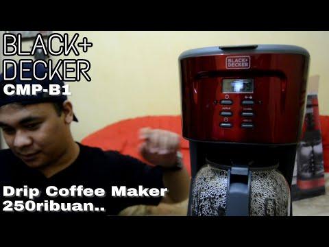 Review dan Demo Sederhana Drip Coffee Maker BLACK DECKER CMP-B1