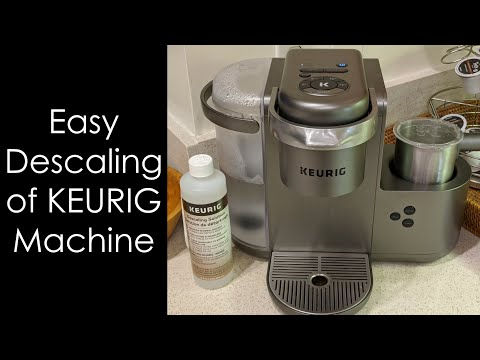How to Descale and Clean a Keurig K-Cafe Machine