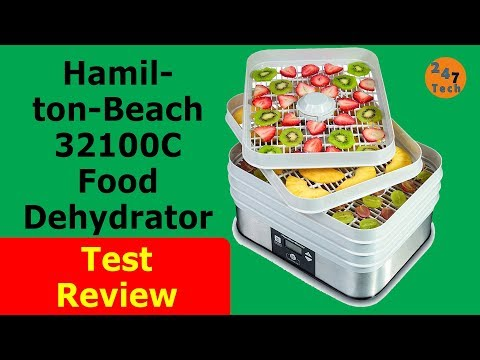 Hamilton-Beach 32100C Food Dehydrator  test review 247-016