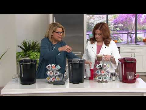 Keurig K-Select Coffee Maker with My K-Cup & 48 K-Cup Pods on QVC