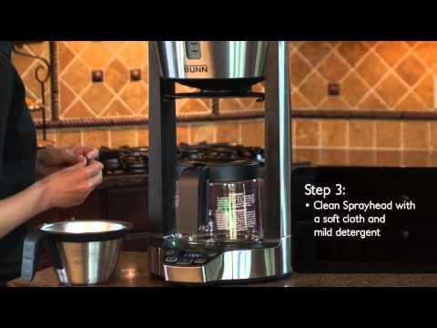 How to Clean the Sprayhead on BUNN® Phase Brew®