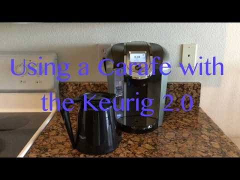 Using a Carafe with the Keurig 2.0