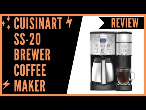 Cuisinart SS-20 Coffee Center 10-Cup Thermal Single-Serve Brewer coffeemaker Review