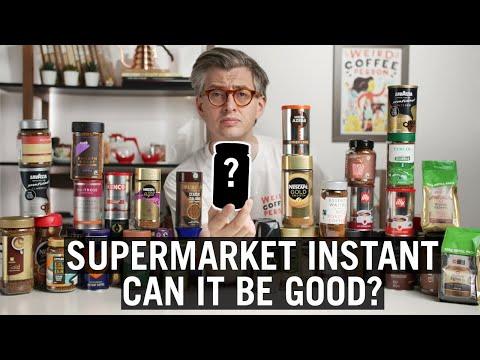 Supermarket Instant Coffee – Which One Tastes Best?