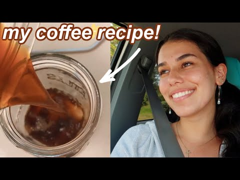 my yummy coffee recipe that makes me happy
