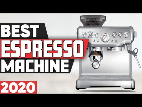5 Best Espresso Machines in 2020