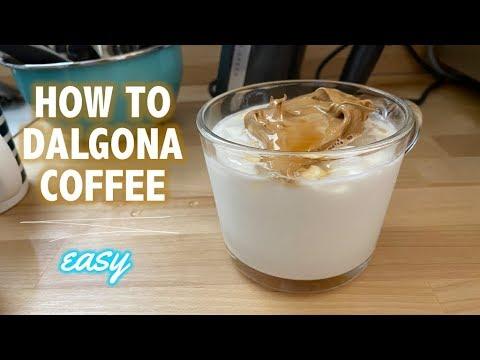 Dalgona Coffee Recipe – EASY!