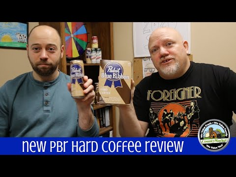 NEW PBR Hard Coffee Review | Pabst Blue Ribbon First Taste Test