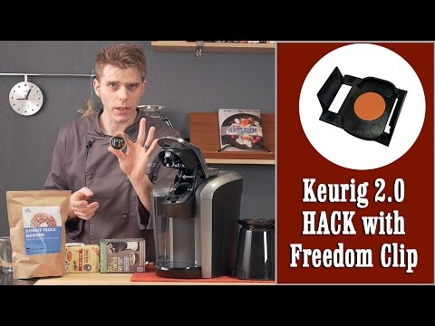 Keurig 2.0 quick & easy hack with DRM Freedom Clip (use any K-Cup) | Presto Chef