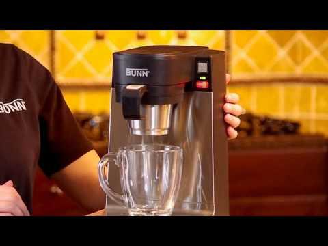 BUNN® My Café® MCU- Instructions for Basic Use